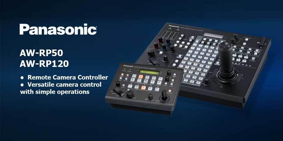 کنترلر و ریموت دوربین های SpeedDome محصول کمپانی Panasonic ( پاناسونیک ) مدل های AW-RP50 , AW-RP120