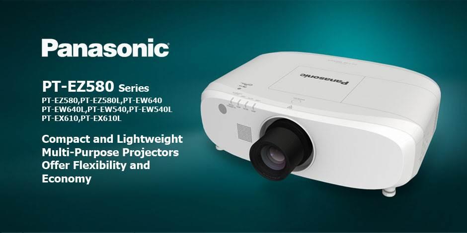ویدئو پرژکتور های حرفه ای HD و Full HD محصول کمپانی Panasonic ( پاناسونیک ) سری PT-EZ580