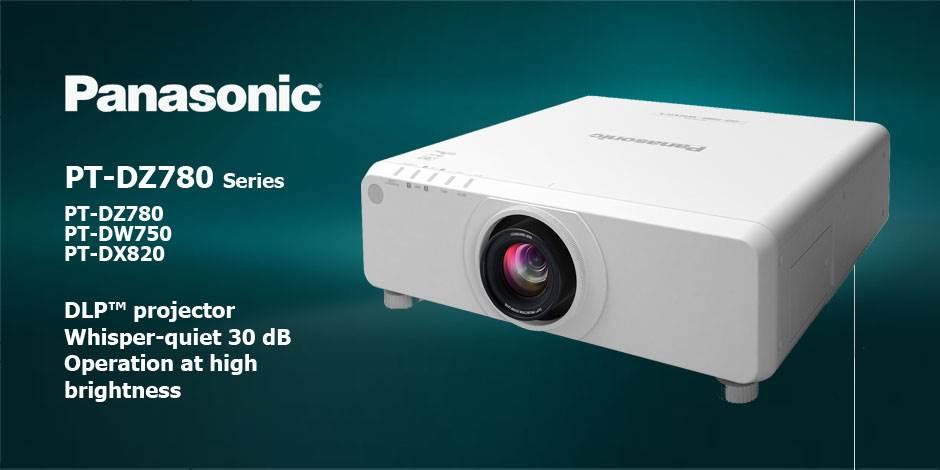 ویدئو پرژکتور های حرفه ای HD و Full HD محصول کمپانی Panasonic ( پاناسونیک ) سری PT-DZ780