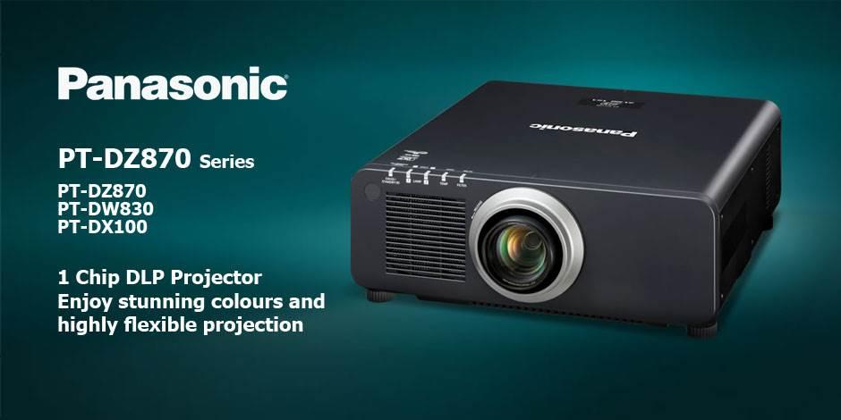 ویدئو پرژکتور های حرفه ای HD و Full HD محصول کمپانی Panasonic ( پاناسونیک ) سری PT-DZ870