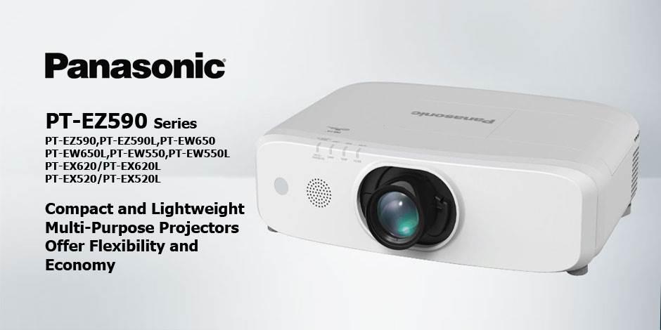 ویدئو پرژکتور های حرفه ای HD و Full HD محصول کمپانی Panasonic ( پاناسونیک ) سری PT-EZ590