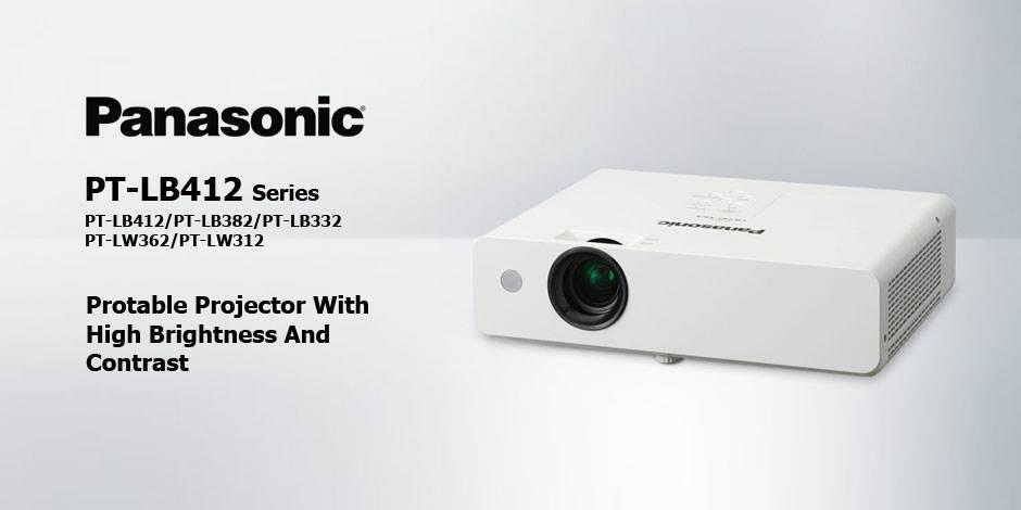 ویدئو پرژکتور های حرفه ای محصول کمپانی Panasonic ( پاناسونیک ) سری PT-LB412