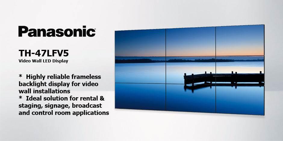مانیتور صنعتی ویدئو وال ( Video Wall ) محصول کمپانی Panasonic ( پاناسونیک ) مدل TH-47LFV5