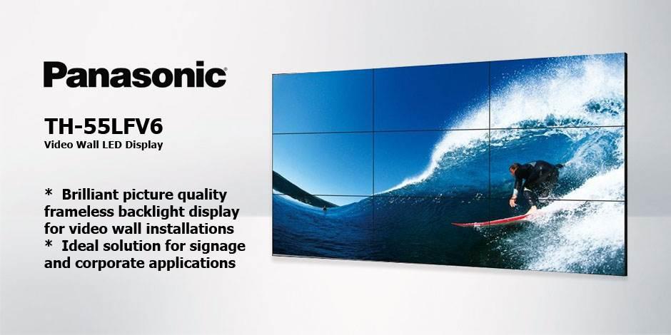 مانیتور صنعتی ویدئو وال ( Video Wall ) محصول کمپانی Panasonic ( پاناسونیک ) مدل TH-55LFV6
