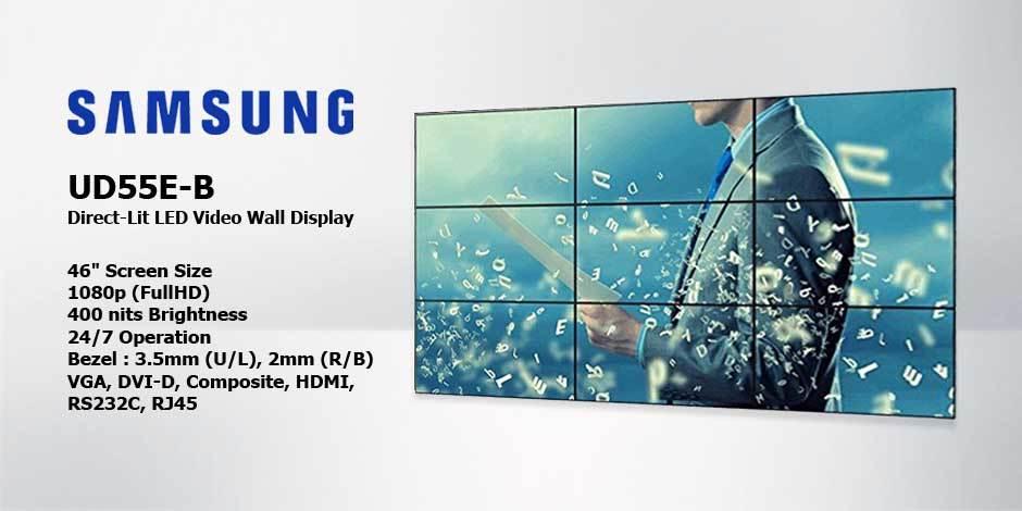 مانیتور صنعتی ویدئو وال ( Video Wall ) محصول کمپانی Samsung ( سامسونگ ) مدل UD46C-B