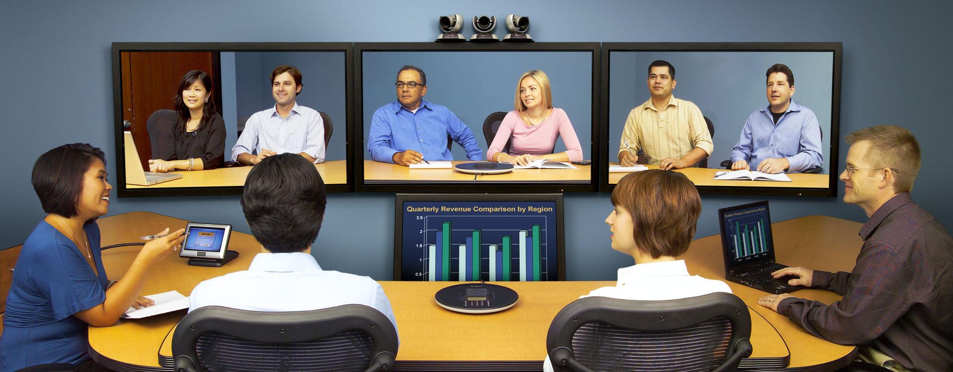 مشاوره ، طراحی و اجرای سیستم های کنفرانس و ویدئو کنفرانس