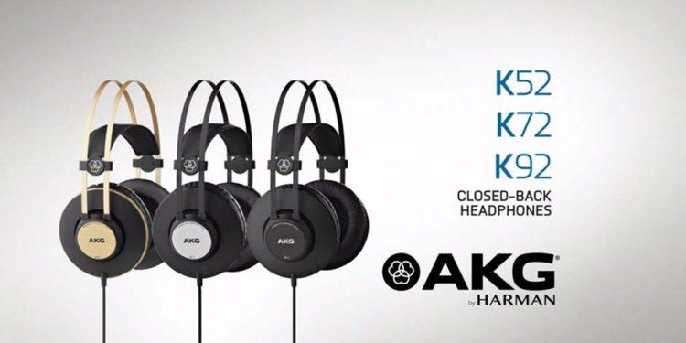 هدفون های حرفه ای محصول کمپانی AKG ( ای کی جی ) سری K Series