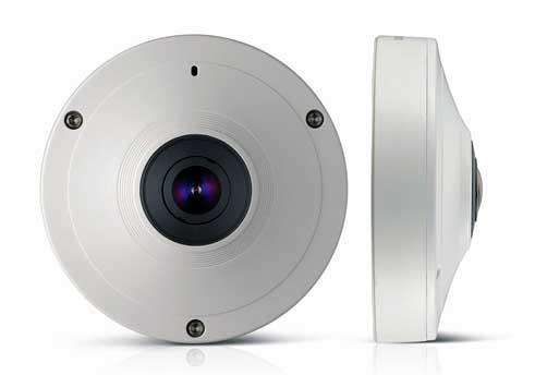 دوربین های صنعتی Fisheye تحت شبکه ساخت کمپانی Samsung (سامسونگ) سری SNF