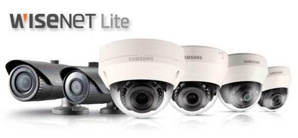 دوربین های صنعتی تحت شبکه ساخت کمپانی Samsung (سامسونگ) سری WiseNet Lite