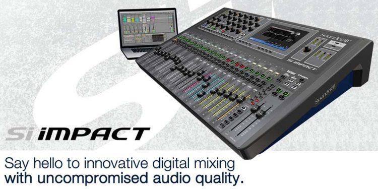 میکسر صوتی دیجیتال محصول کمپانی Soundcraft (ساندکرافت ) مدل Si Impact