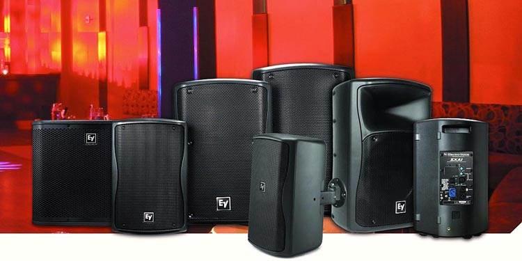 باند و ساب ووفر اکتیو و پسیو حرفه ای ساخت کمپانی Electro Voice ( الکترو ویس ) سری ZX1