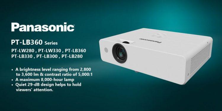 ویدئو پرژکتور های حرفه ای محصول کمپانی Panasonic ( پاناسونیک ) سری PT-LB360