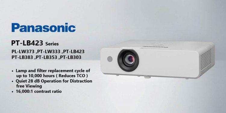 ویدئو پرژکتور های حرفه ای محصول کمپانی Panasonic ( پاناسونیک ) سری PT-LB423