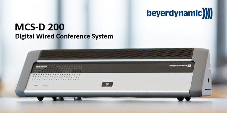 سیستم کنفرانس دیجیتال محصول کمپانی Beyerdynamic ( بیرداینامیک ) سری MCS-D با قابلیت اتو ترکینگ Auto Tracking