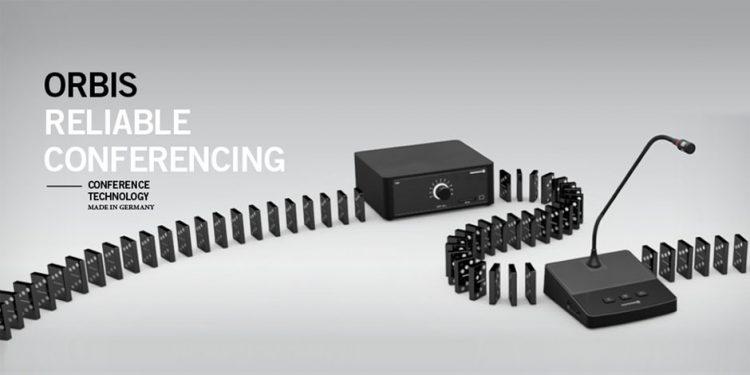 سیستم کنفرانس دیجیتال محصول کمپانی Beyerdynamic ( بیرداینامیک ) سری Orbis با قابلیت اتو ترکینگ Auto Tracking