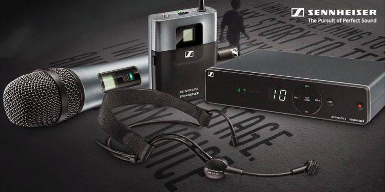 میکروفن های بیسیم دیجیتال حرفه ای ساخت کمپانی Sennheiser ( سن هایزر ) سری XSW 2