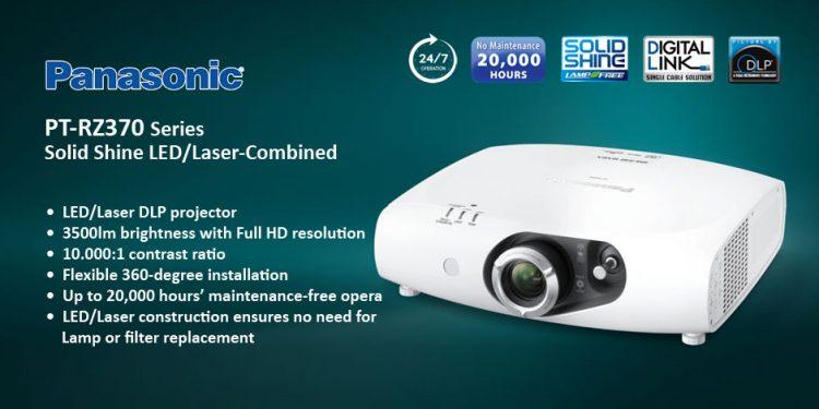 Panasonic PT-RZ370 - ويدئو پروجکشن Full HD با تکنولوژی لیزری