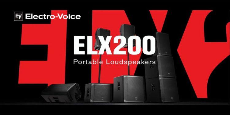 Electro-Voice ELX200 - باند و ساب ووفر اکتیو و پسیو حرفه ای