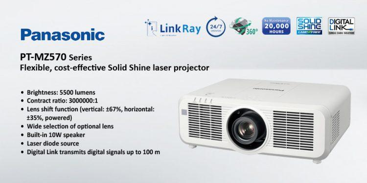 Panasonic PT-MZ570 – ويدئو پروجکشن Full HD با تکنولوژی لیزری و قابلیت 24/7