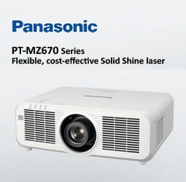 Panasonic PT-MZ670/PT-MW630 ويدئو پروجکشن Full HD با تکنولوژی لیزری و قابلیت 24/7