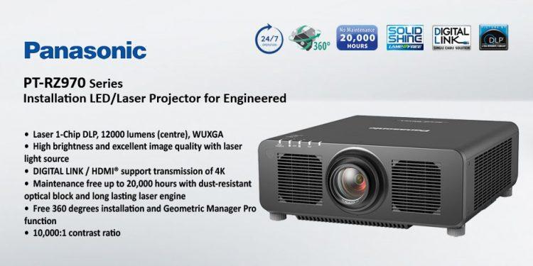 Panasonic PT-RZ120 – ويدئو پروجکشن لیزری Full HD با قابلیت 24/7