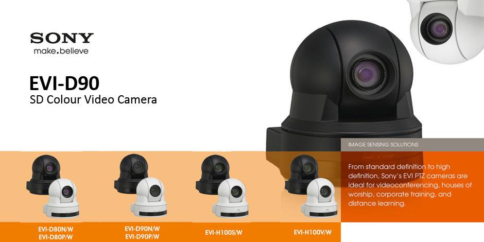 دوربین روباتیک تصویر برداری Sony EVI-D90
