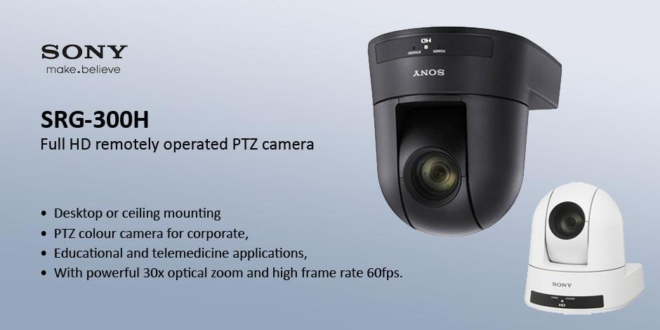 دوربین دیجیتال روباتیک Sony SRG-300H