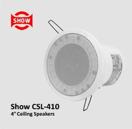 Show CSL-410 – بلندگو سقفی اهمی ولتی با ووفر 4 و توان 5 وات